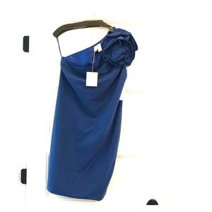 Tracy Reese one shoulder dress Sz 4